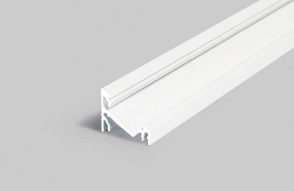 LED Profil CORNER14 EF/TY 1000 weiß