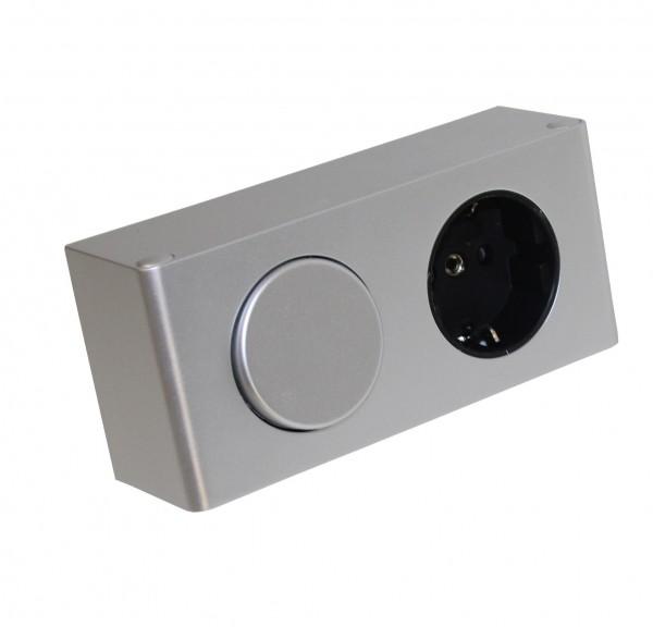 Kombi-Box Energiebox 230 Volt mit Schalter und Steckdose