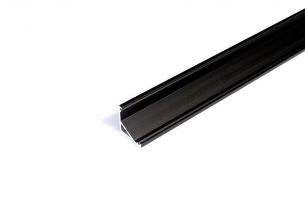 LED Profil CABI12 E 1000 schwarz