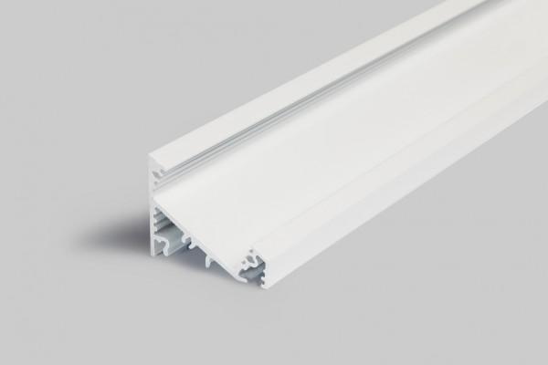 LED Profil CORNER27 G/UX 1000 weiß