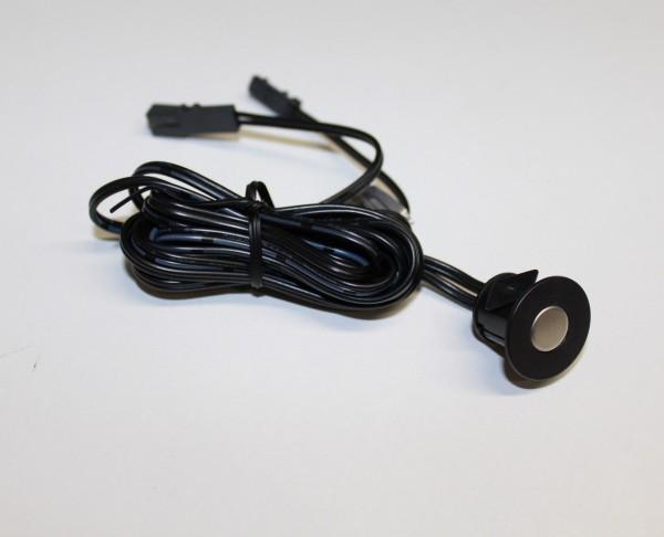 TOUCH LED Sensor / Schalter 12V für die Einbaumontage schwarz