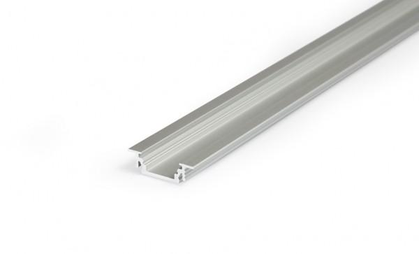 LED Profil GROOVE10 BC/UX 1000 Alu eloxiert