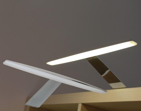 LED Aufbauleuchten Chrom 3000K / 6000K Set mit Trafo
