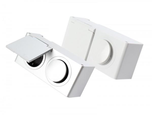 Kombi-Box Energiebox für Schrank Powerbox 230V Steckdose mit Schalter