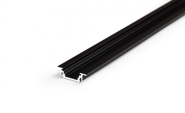 LED Profil GROOVE10 BC/UX 1000 schwarz
