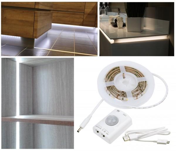 LED-Beleuchtung mit Bewegungssensor für Möbel