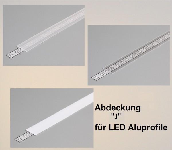 Abdeckung J 1000 weiß / satiniert / transparent (slick = slide/click)