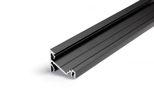 LED Profil CORNER14 EF/TY 1000 schwarz