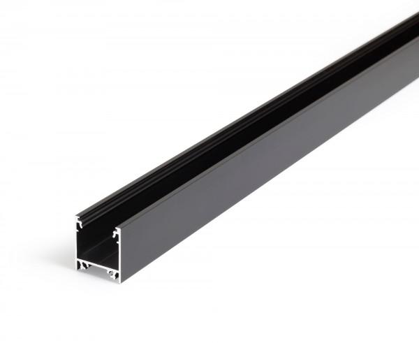LED Profil LINEA20 EF/TY 1000 schwarz