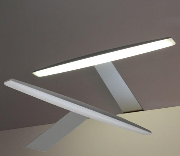 LED Aufbauleuchten Alu 3000K / 6000K Set mit Trafo