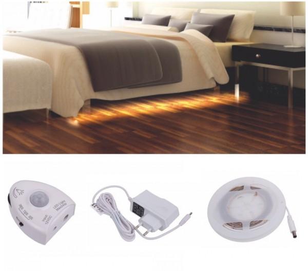 LED-Beleuchtung mit Bewegungssensor für Betten und Möbel
