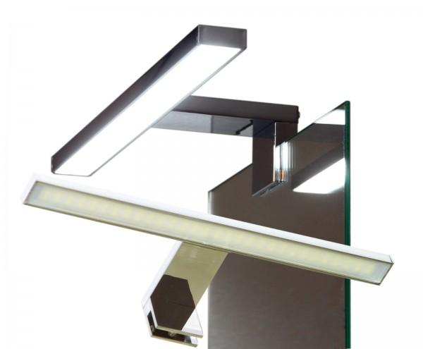 LED Spiegelleuchte Klemmleuchte Badleuchte Chrom 4,5W 3000K / 6000K