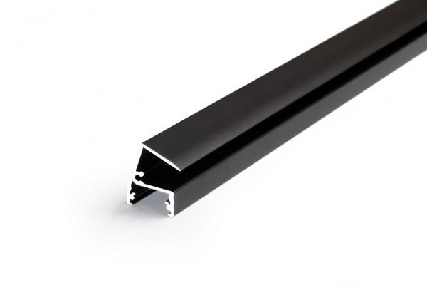 LED Profil EDGE10 BC 1000 schwarz