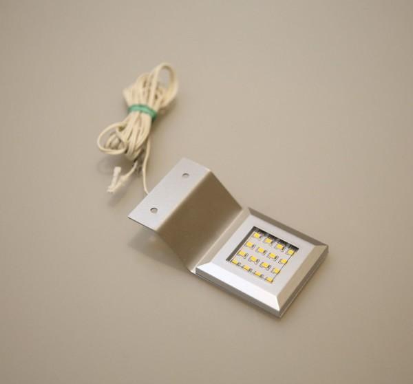 LED Aufbauleuchte ohne Trafo Alu-silber 3000K / 6000K