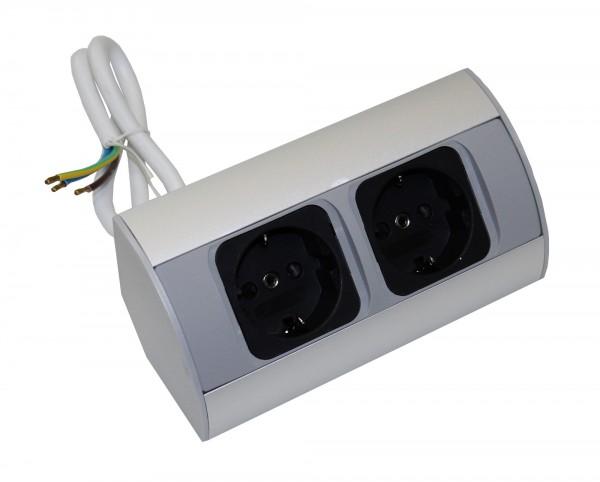 Kombi-Box Corner-Box 2x Steckdose 230Volt