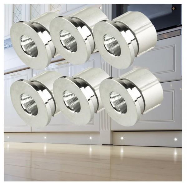 LED Punktleuchten Set mit Trafo Punktlicht Einbaustrahler