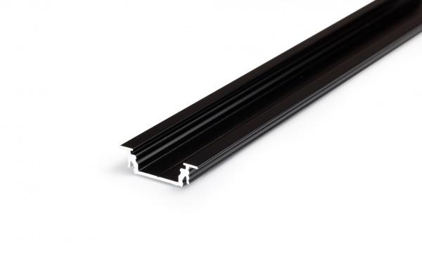 LED Profil GROOVE14 EF/TY 1000 schwarz